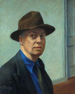 Edward Hopper - self portrait(1925 - 30)