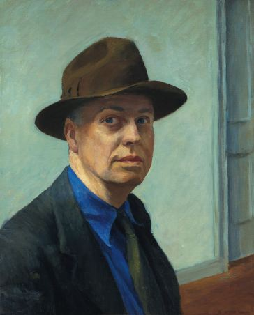Edward Hopper - self portrait(1925 - 30)