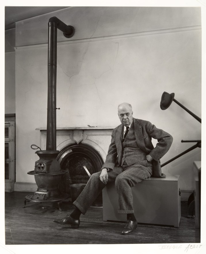 Edward Hopper by Berenice Abbott(1948)