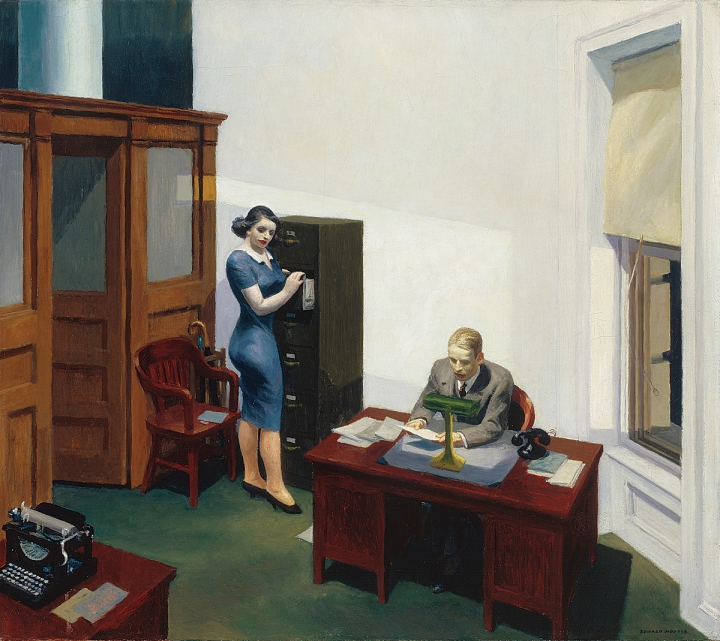 Office at night(1940)