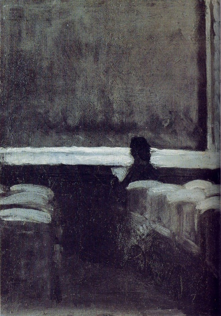 Solitary Figure in theater(1903)