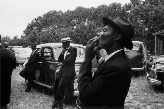 Robert Frank - Funeral - St. Helena, South Carolina, 1955