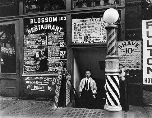 1935 - Blossom Restaurant 103 Bowery