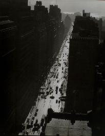 1935 - Seventh Avenue looking south from 35th Street in Manhattan