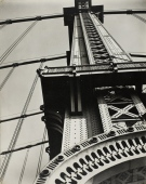 1936 - Manhattan Bridge Looking Up